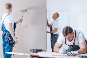 painting services by ServiceMaster by Wirght